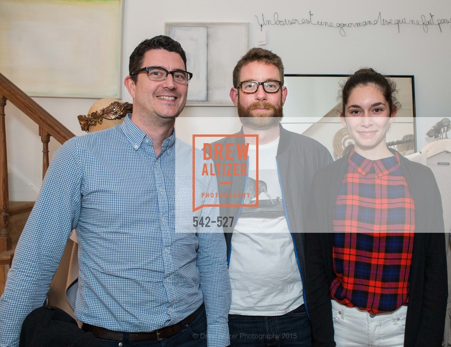 Nate Mahoney, Tom Gilligan, Eva Krognes, Parisian Design Showcase: Maison et Objet preview, Jessie Black Boutique. 3252 Sacramento St, November 12th, 2015,Drew Altizer, Drew Altizer Photography, full-service agency, private events, San Francisco photographer, photographer california