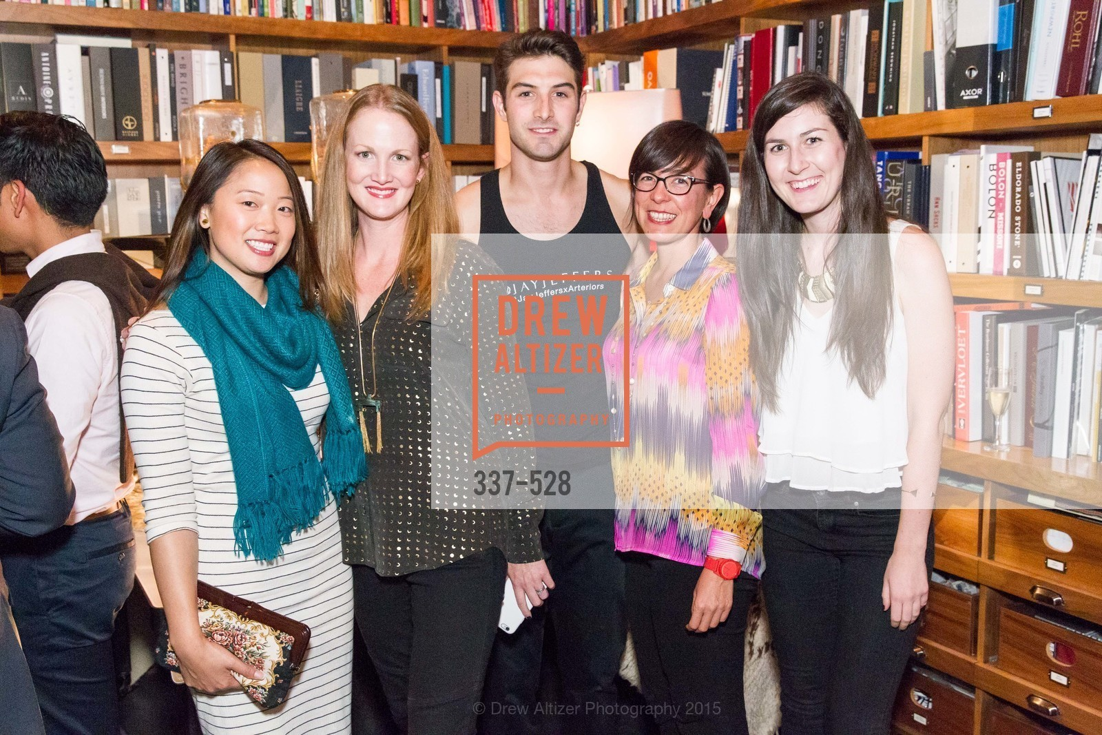 Lynn Trinh, Jennifer Jones, Nicholas Korkos, Kyoko Jackson, Anna Warnken-Brill, Jay Jeffers for Arteriors Launch, Jay Jeffers - The Store. 1035 Post St, November 12th, 2015,Drew Altizer, Drew Altizer Photography, full-service agency, private events, San Francisco photographer, photographer california