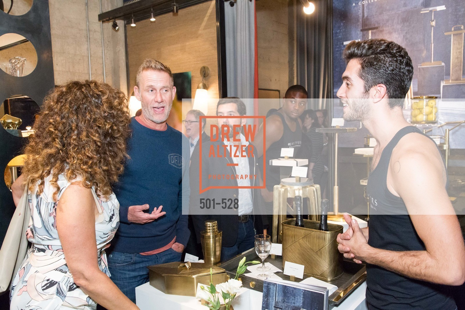 Nicholas Korkos, Jay Jeffers for Arteriors Launch, Jay Jeffers - The Store. 1035 Post St, November 12th, 2015,Drew Altizer, Drew Altizer Photography, full-service agency, private events, San Francisco photographer, photographer california