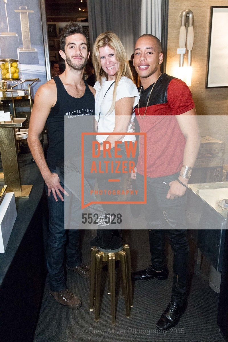 Nicholas Korkos, Sherry Hope-Kennedy, Ronnie Foster, Jay Jeffers for Arteriors Launch, Jay Jeffers - The Store. 1035 Post St, November 12th, 2015,Drew Altizer, Drew Altizer Photography, full-service agency, private events, San Francisco photographer, photographer california