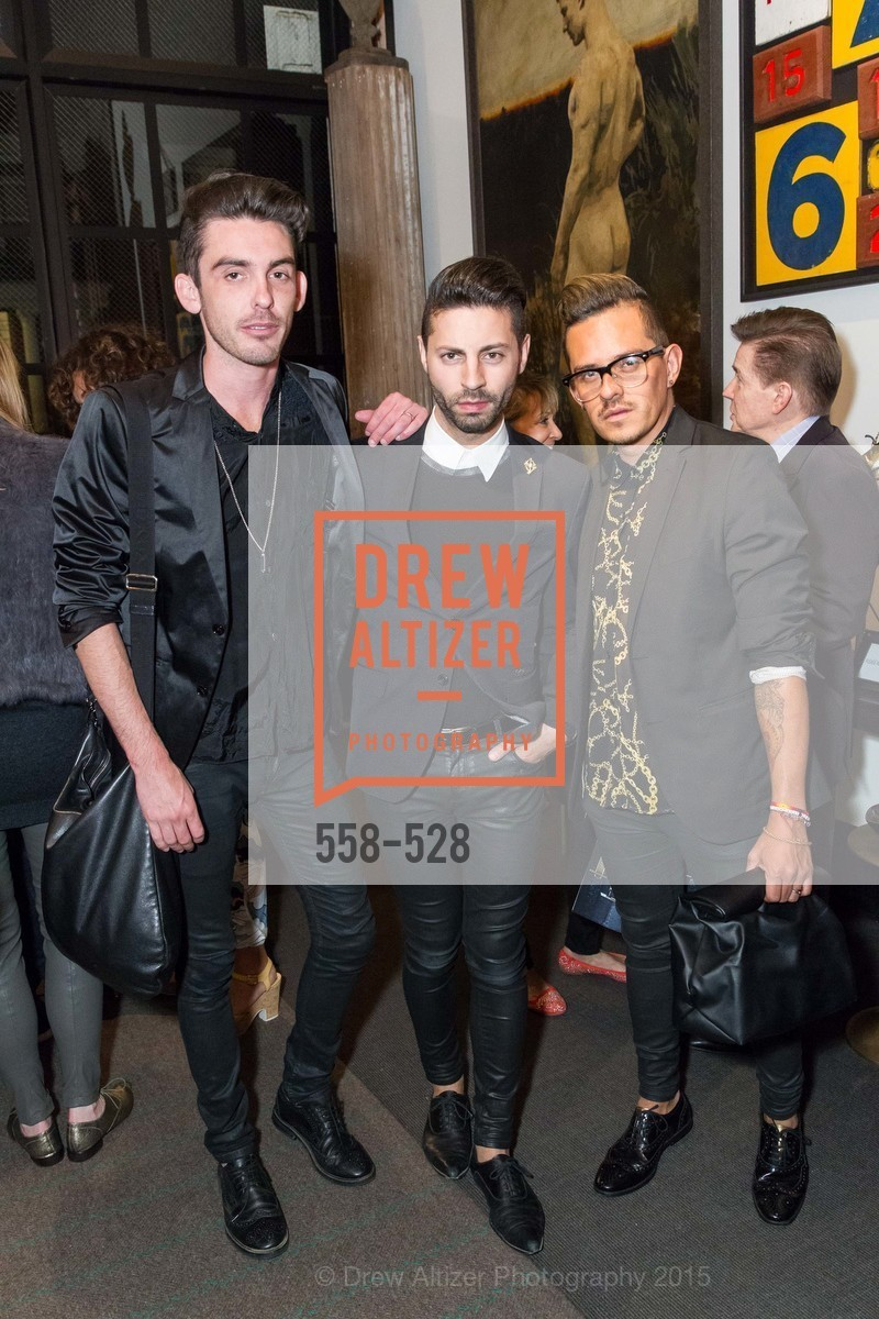 Matt Browne, Ryan Daugherty, Agustin Sanders, Jay Jeffers for Arteriors Launch, Jay Jeffers - The Store. 1035 Post St, November 12th, 2015,Drew Altizer, Drew Altizer Photography, full-service event agency, private events, San Francisco photographer, photographer California