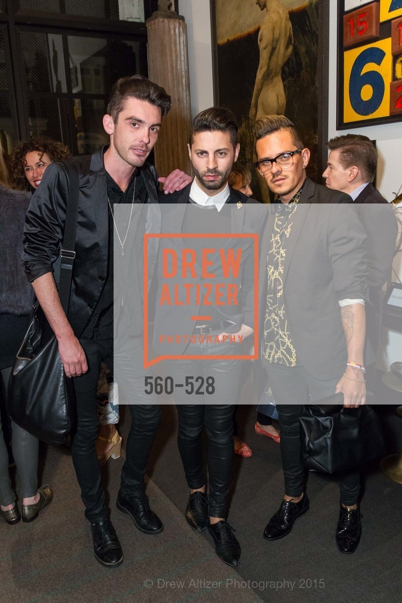 Matt Browne, Ryan Daugherty, Agustin Sanders, Jay Jeffers for Arteriors Launch, Jay Jeffers - The Store. 1035 Post St, November 12th, 2015,Drew Altizer, Drew Altizer Photography, full-service agency, private events, San Francisco photographer, photographer california