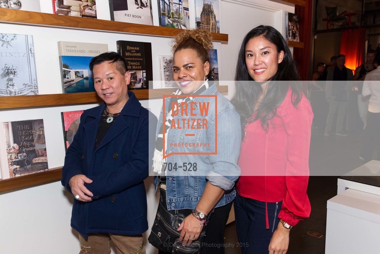 Baby Chic, Priscilla Zollicosser, Diana Guo, Jay Jeffers for Arteriors Launch, Jay Jeffers - The Store. 1035 Post St, November 12th, 2015