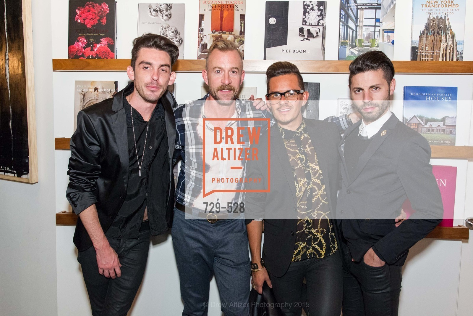 Matt Browne, Michael Purdy, Agustin Sanders, Ryan Daugherty, Jay Jeffers for Arteriors Launch, Jay Jeffers - The Store. 1035 Post St, November 12th, 2015,Drew Altizer, Drew Altizer Photography, full-service agency, private events, San Francisco photographer, photographer california