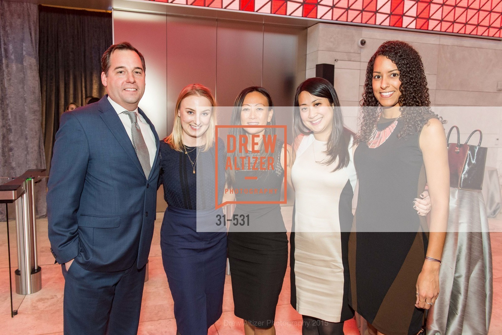 Justin Sacco, Elisa Price, Eileen Kong, Grace Hwang, Alexandra Stoelzle, Kilroy Unveiling Presents Virtual Depictions: San Francisco by Refik Anadol, 350 Mission Street. 350 Mission Street, November 16th, 2015,Drew Altizer, Drew Altizer Photography, full-service agency, private events, San Francisco photographer, photographer california