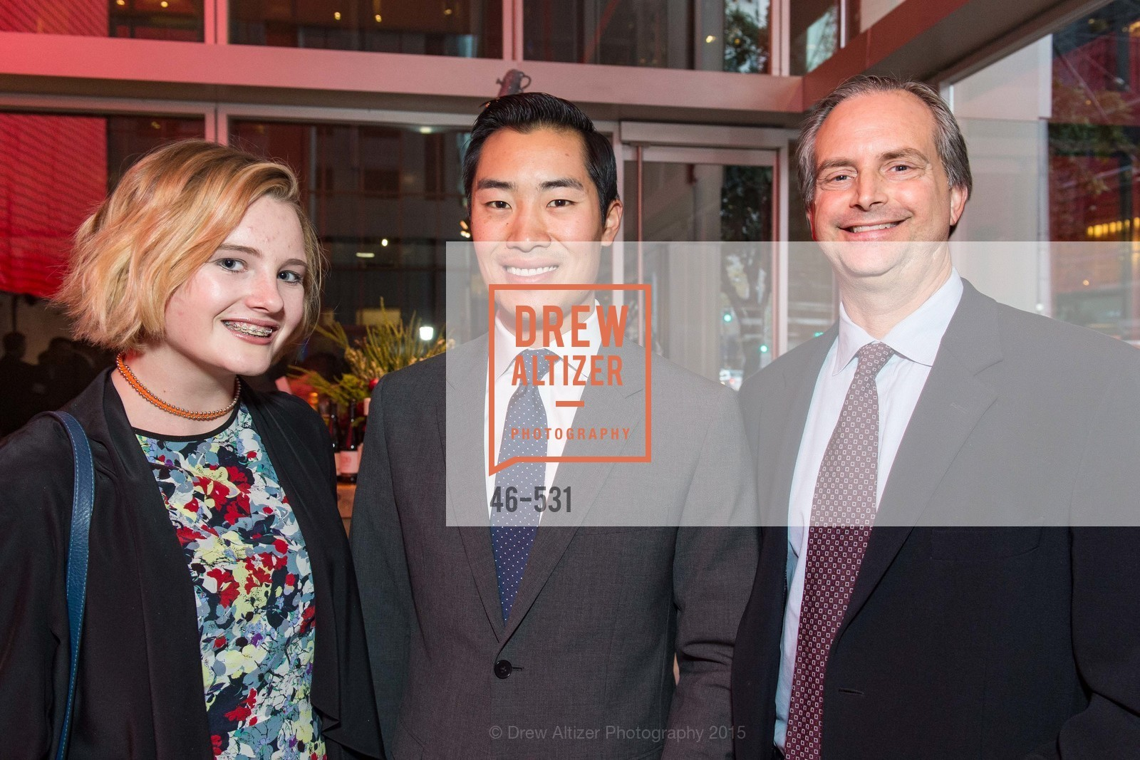 Chloe Kilroy, Brandon Wang, Scott Halfwassen, Kilroy Unveiling Presents Virtual Depictions: San Francisco by Refik Anadol, 350 Mission Street. 350 Mission Street, November 16th, 2015,Drew Altizer, Drew Altizer Photography, full-service agency, private events, San Francisco photographer, photographer california