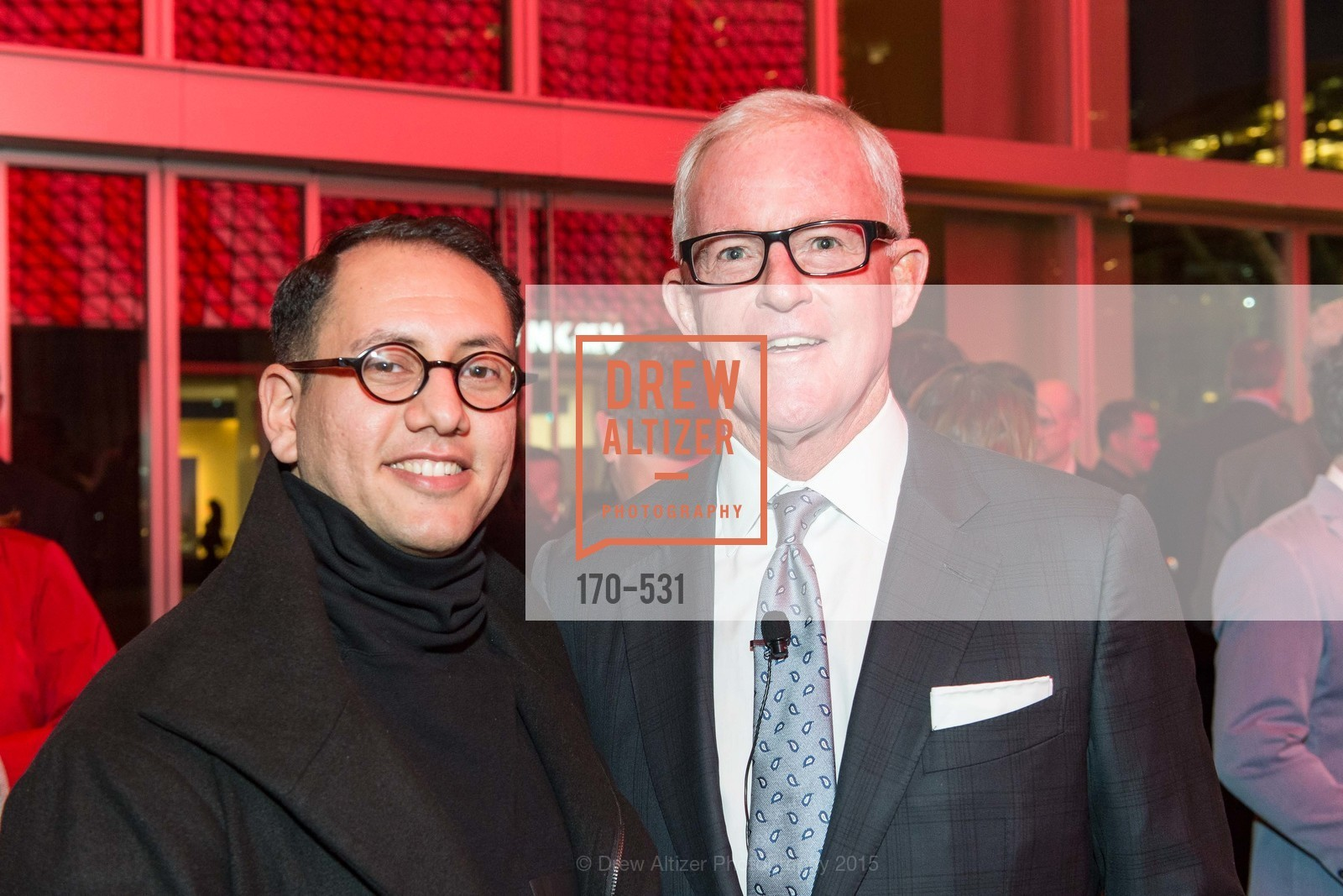 Refik Anadol, John Kilroy, Kilroy Unveiling Presents Virtual Depictions: San Francisco by Refik Anadol, 350 Mission Street. 350 Mission Street, November 16th, 2015,Drew Altizer, Drew Altizer Photography, full-service agency, private events, San Francisco photographer, photographer california