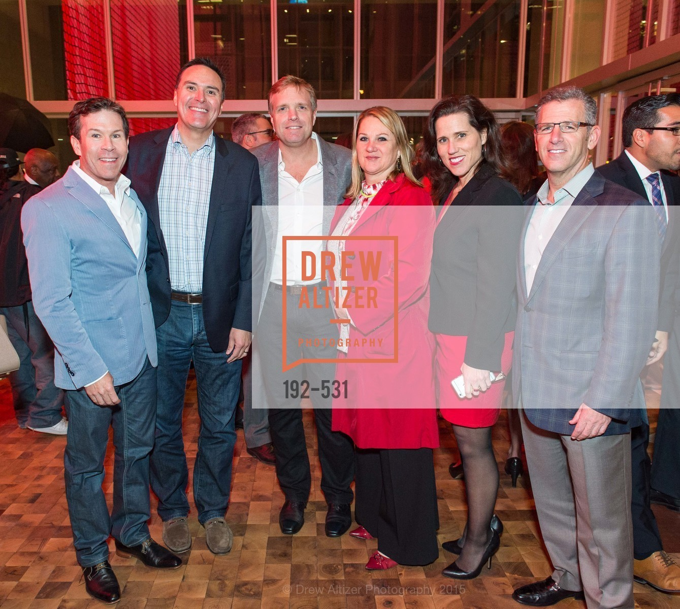 Jeff Sciaroni, Charles Gehring, Jeff Peters, Sandra Schmit, Stefanie Hay, Jeff Oster, Kilroy Unveiling Presents Virtual Depictions: San Francisco by Refik Anadol, 350 Mission Street. 350 Mission Street, November 16th, 2015,Drew Altizer, Drew Altizer Photography, full-service event agency, private events, San Francisco photographer, photographer California