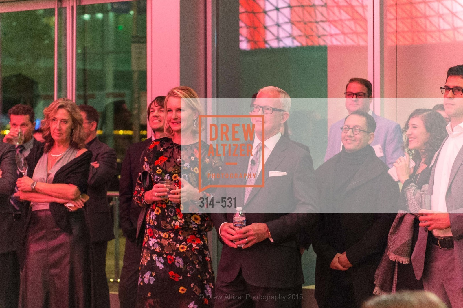 Catherine Kilroy, John Kilroy, Refik Anadol, Kilroy Unveiling Presents Virtual Depictions: San Francisco by Refik Anadol, 350 Mission Street. 350 Mission Street, November 16th, 2015,Drew Altizer, Drew Altizer Photography, full-service event agency, private events, San Francisco photographer, photographer California