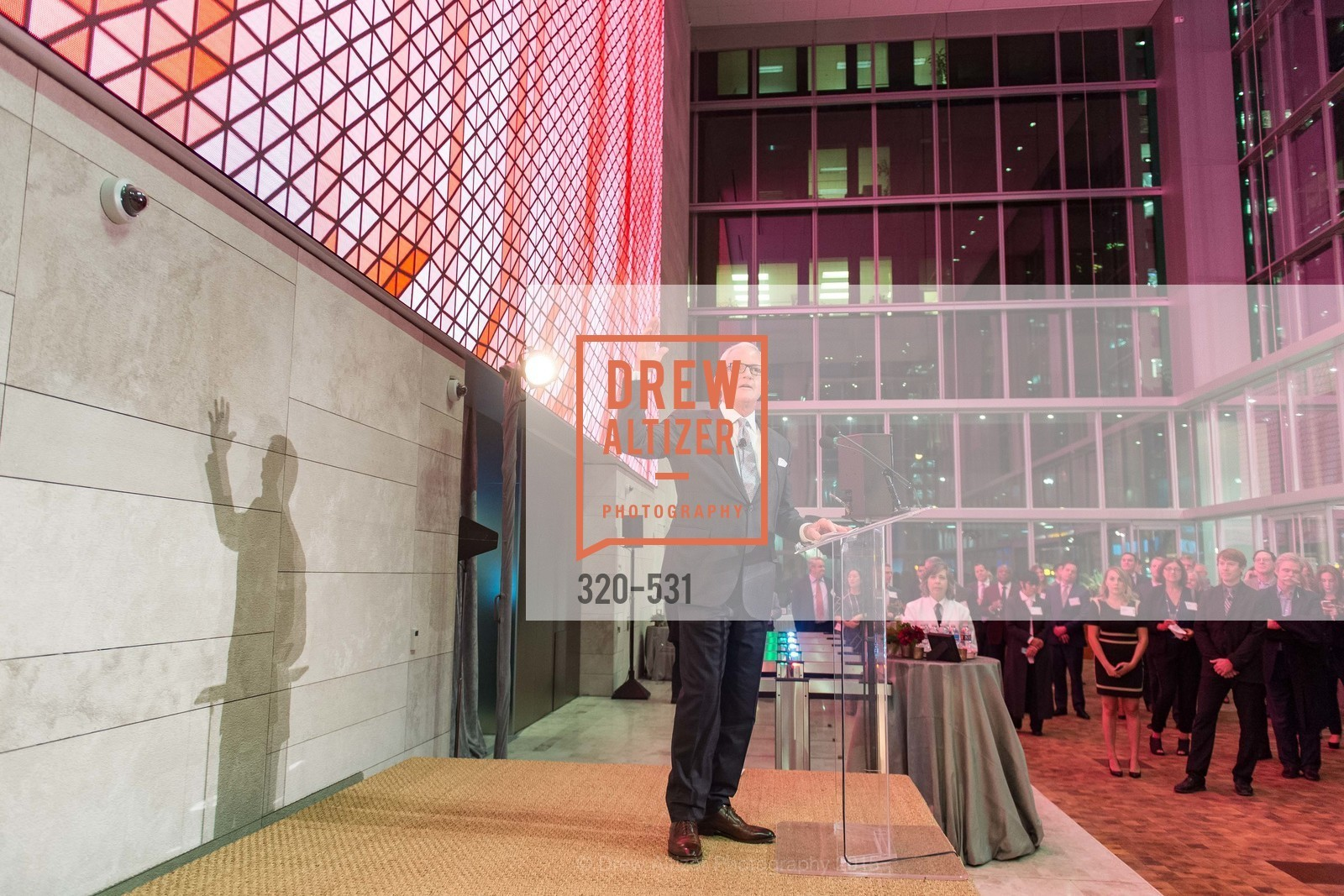 John Kilroy, Kilroy Unveiling Presents Virtual Depictions: San Francisco by Refik Anadol, 350 Mission Street. 350 Mission Street, November 16th, 2015,Drew Altizer, Drew Altizer Photography, full-service agency, private events, San Francisco photographer, photographer california