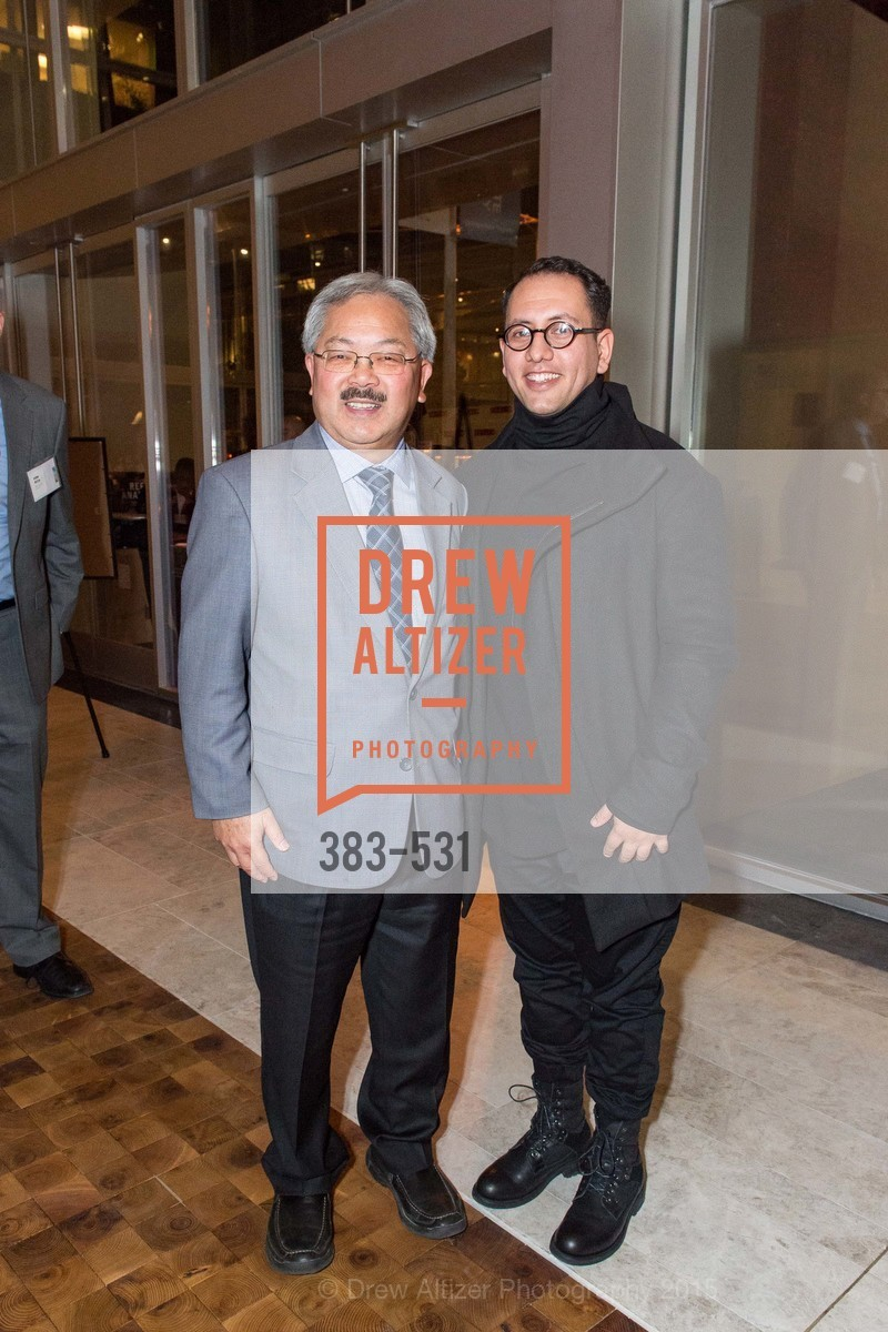 Mayor Ed Lee, Refik Anadol, Kilroy Unveiling Presents Virtual Depictions: San Francisco by Refik Anadol, 350 Mission Street. 350 Mission Street, November 16th, 2015,Drew Altizer, Drew Altizer Photography, full-service agency, private events, San Francisco photographer, photographer california
