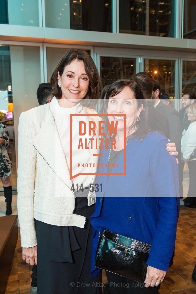 Sue Hoeschler, Jennifer Marko, Kilroy Unveiling Presents Virtual Depictions: San Francisco by Refik Anadol, 350 Mission Street. 350 Mission Street, November 16th, 2015,Drew Altizer, Drew Altizer Photography, full-service agency, private events, San Francisco photographer, photographer california