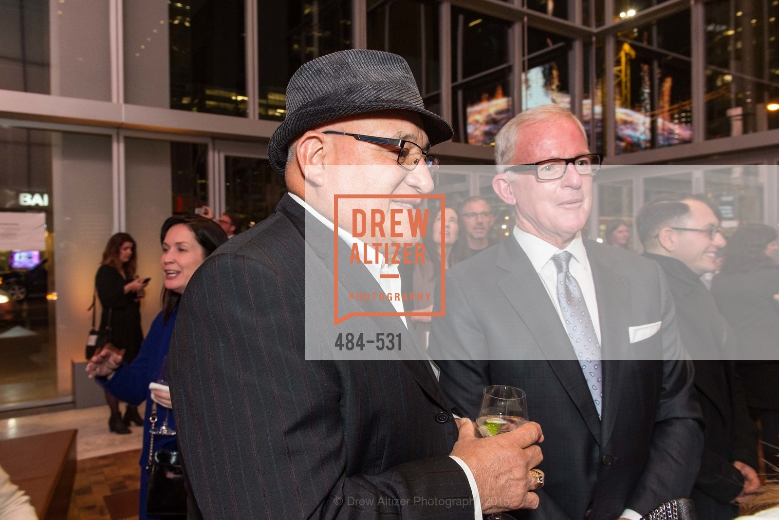 Jonathan Gomez Snr., John Kilroy, Kilroy Unveiling Presents Virtual Depictions: San Francisco by Refik Anadol, 350 Mission Street. 350 Mission Street, November 16th, 2015,Drew Altizer, Drew Altizer Photography, full-service agency, private events, San Francisco photographer, photographer california