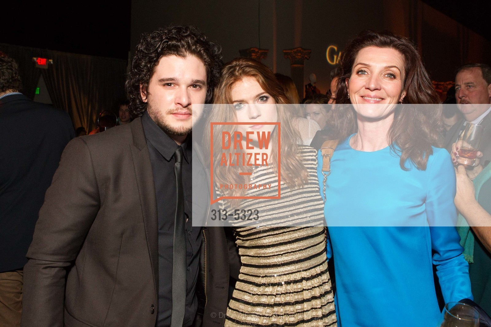 Kit Harington, Rose Leslie, Michelle Fairley, Photo #313-5323