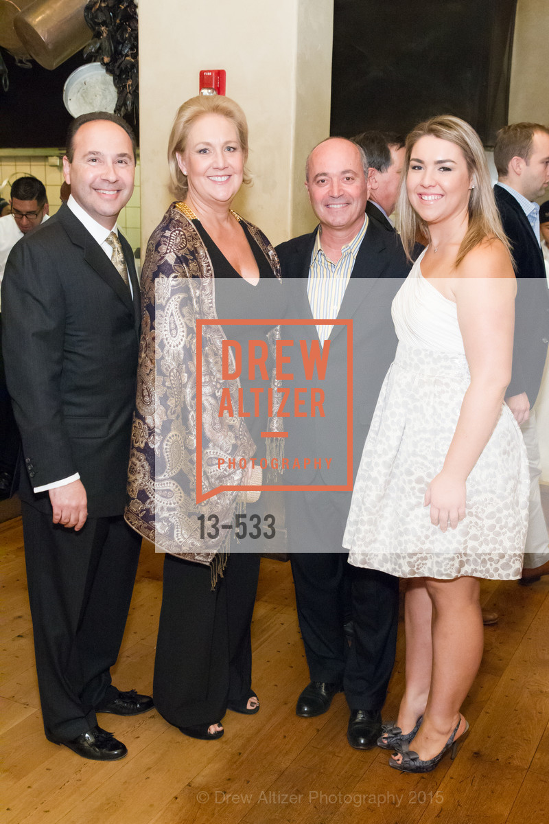 Gary Vrionis, Janice Gumas, John Gumas, Stephanie Gumas, Hellenic Charity Ball Cocktail Reception, Kokkari. 200 Jackson St, San Francisco, CA 94111, November 13th, 2015,Drew Altizer, Drew Altizer Photography, full-service event agency, private events, San Francisco photographer, photographer California