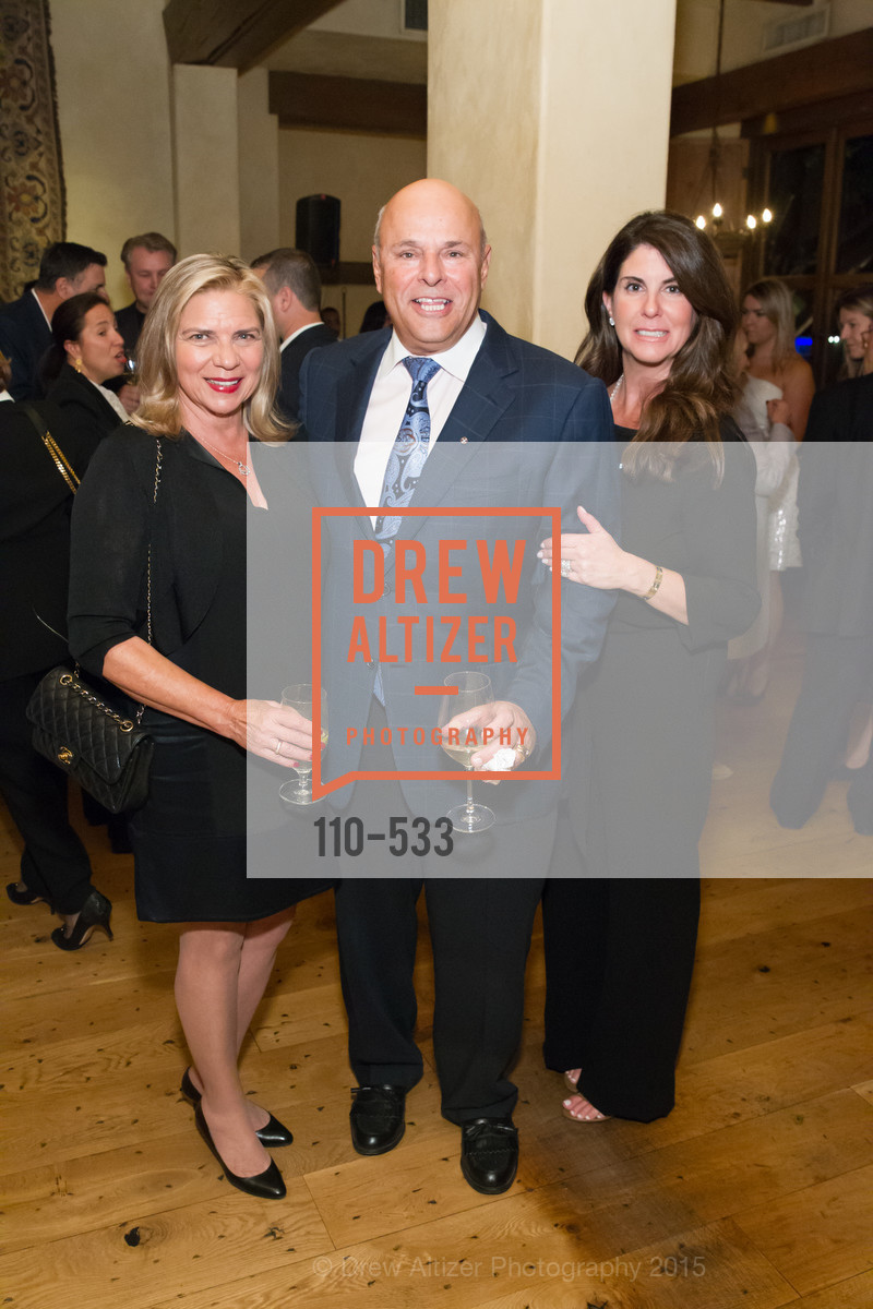 Betty Saris, Tony Saris, Tina Vrionis, Hellenic Charity Ball Cocktail Reception, Kokkari. 200 Jackson St, San Francisco, CA 94111, November 13th, 2015,Drew Altizer, Drew Altizer Photography, full-service agency, private events, San Francisco photographer, photographer california