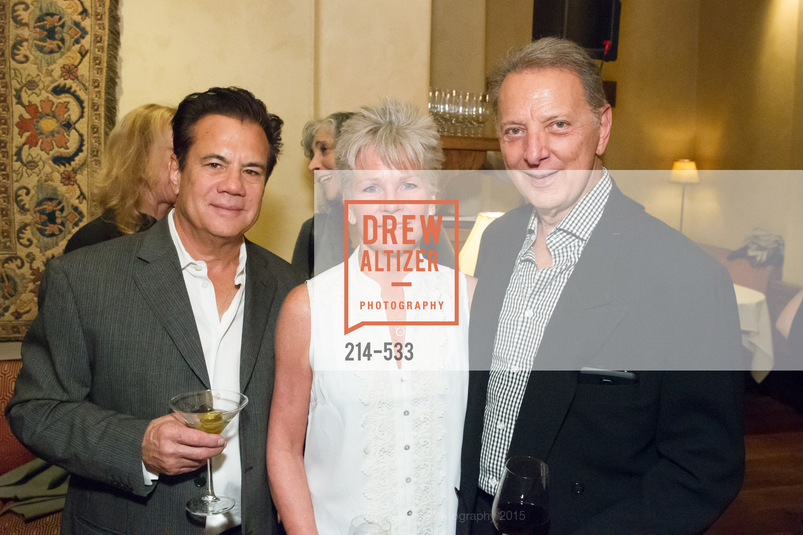 Cory Lerios, Rae Martin, Gig Xifaras, Hellenic Charity Ball Cocktail Reception, Kokkari. 200 Jackson St, San Francisco, CA 94111, November 13th, 2015,Drew Altizer, Drew Altizer Photography, full-service event agency, private events, San Francisco photographer, photographer California