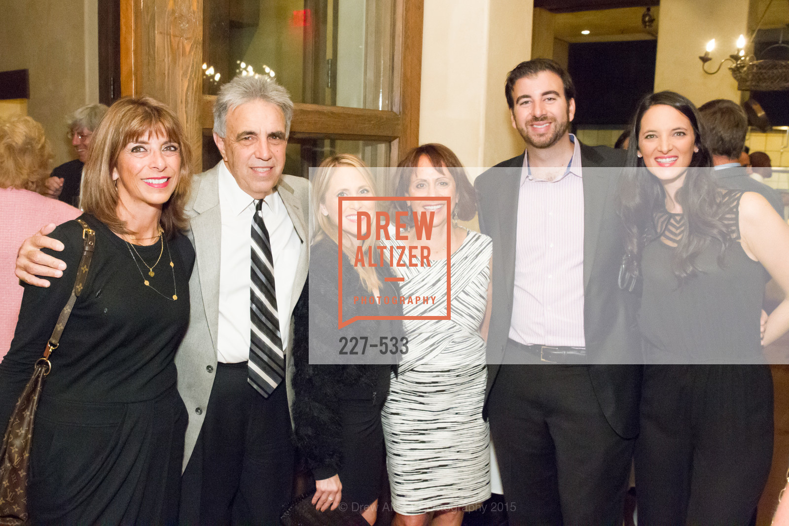 Paula Diamond, Nick Lampros, Vanessa Mockler, Linda Lampros, Nick Diamond, Elena Diamond, Hellenic Charity Ball Cocktail Reception, Kokkari. 200 Jackson St, San Francisco, CA 94111, November 13th, 2015,Drew Altizer, Drew Altizer Photography, full-service agency, private events, San Francisco photographer, photographer california