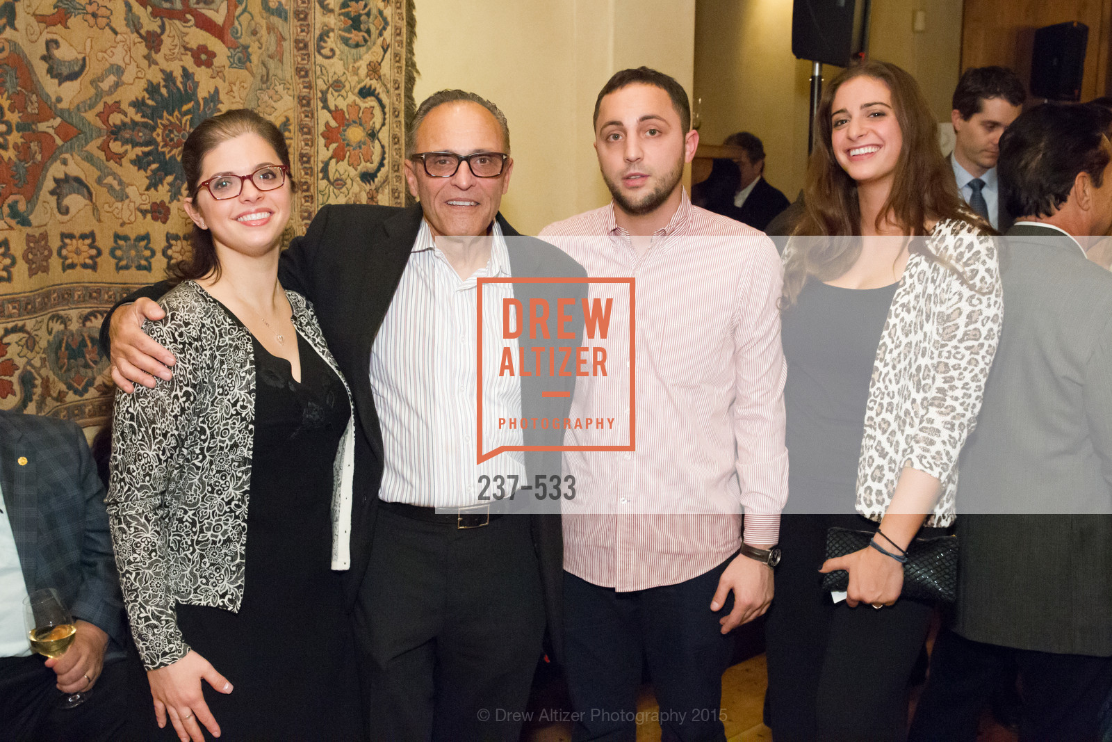 Calliope Makris, Constantine Makris, Michael Makris, Theodora Makris, Hellenic Charity Ball Cocktail Reception, Kokkari. 200 Jackson St, San Francisco, CA 94111, November 13th, 2015,Drew Altizer, Drew Altizer Photography, full-service agency, private events, San Francisco photographer, photographer california