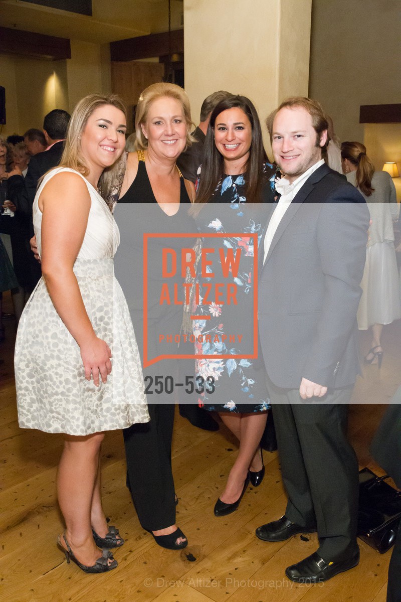 Stephanie Gumas, Janice Gumas, Christina Padis, Michael Ritter, Hellenic Charity Ball Cocktail Reception, Kokkari. 200 Jackson St, San Francisco, CA 94111, November 13th, 2015,Drew Altizer, Drew Altizer Photography, full-service agency, private events, San Francisco photographer, photographer california