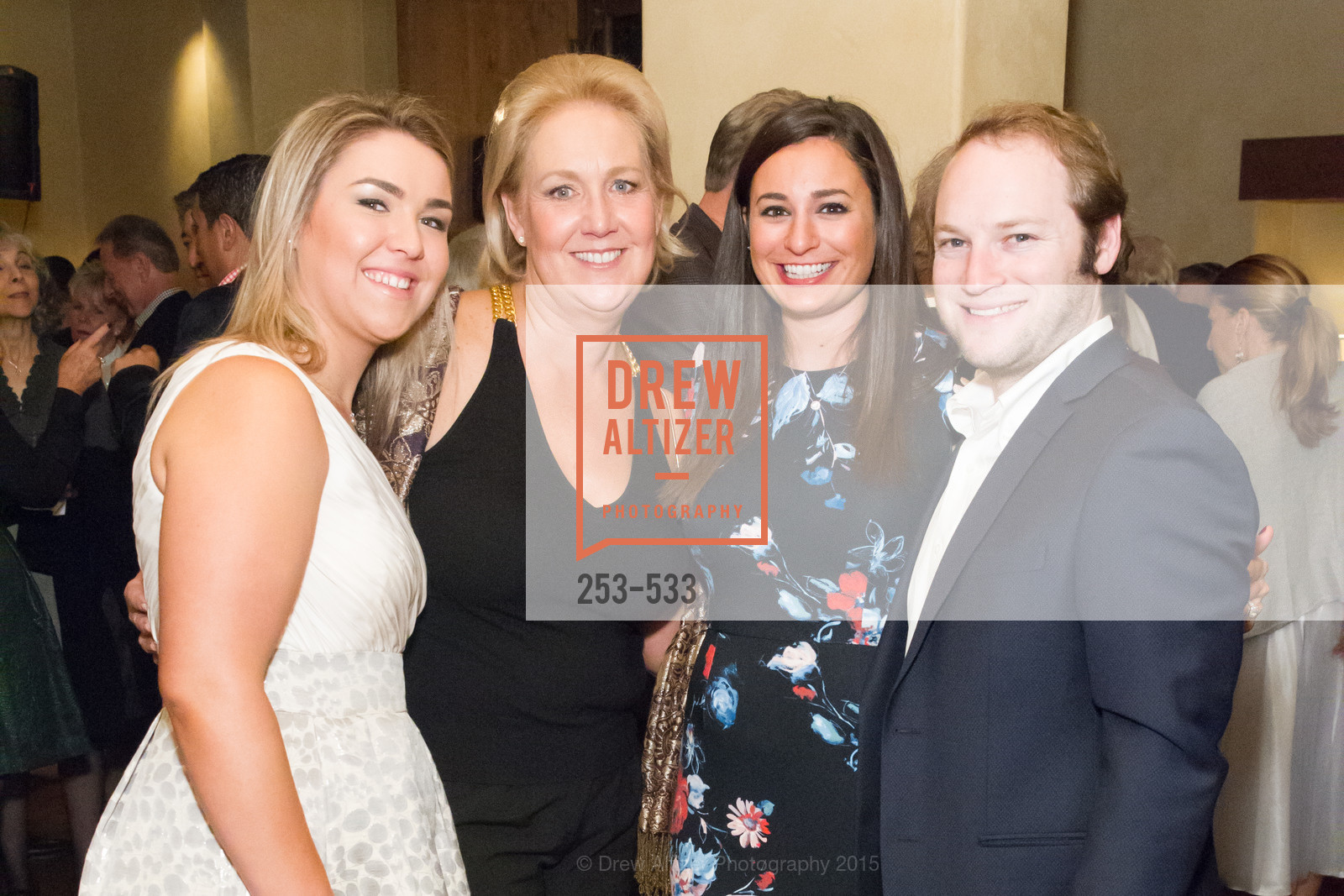Stephanie Gumas, Janice Gumas, Christina Padis, Michael Ritter, Hellenic Charity Ball Cocktail Reception, Kokkari. 200 Jackson St, San Francisco, CA 94111, November 13th, 2015,Drew Altizer, Drew Altizer Photography, full-service event agency, private events, San Francisco photographer, photographer California