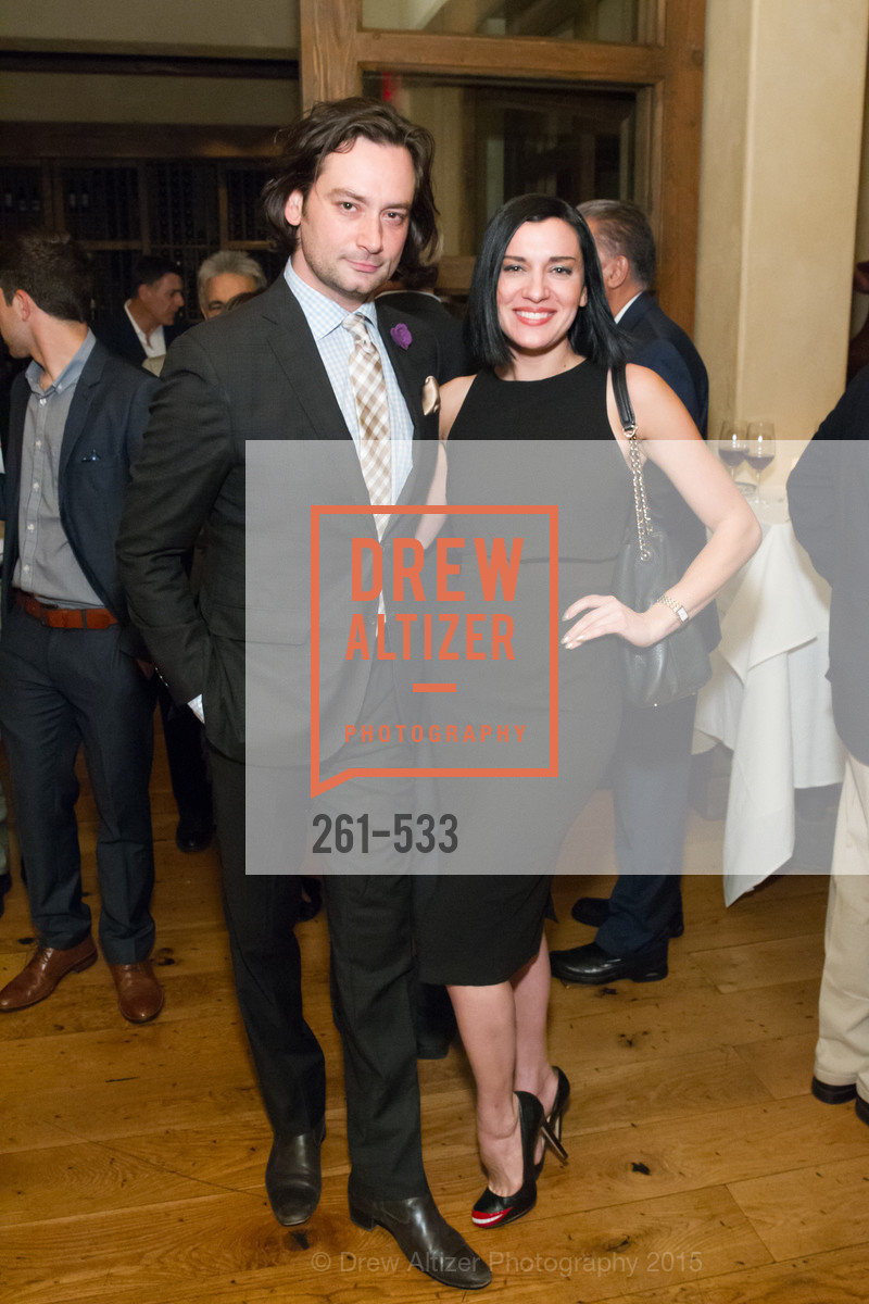 Constantine Maroulis, Ariana Savalas, Hellenic Charity Ball Cocktail Reception, Kokkari. 200 Jackson St, San Francisco, CA 94111, November 13th, 2015,Drew Altizer, Drew Altizer Photography, full-service agency, private events, San Francisco photographer, photographer california