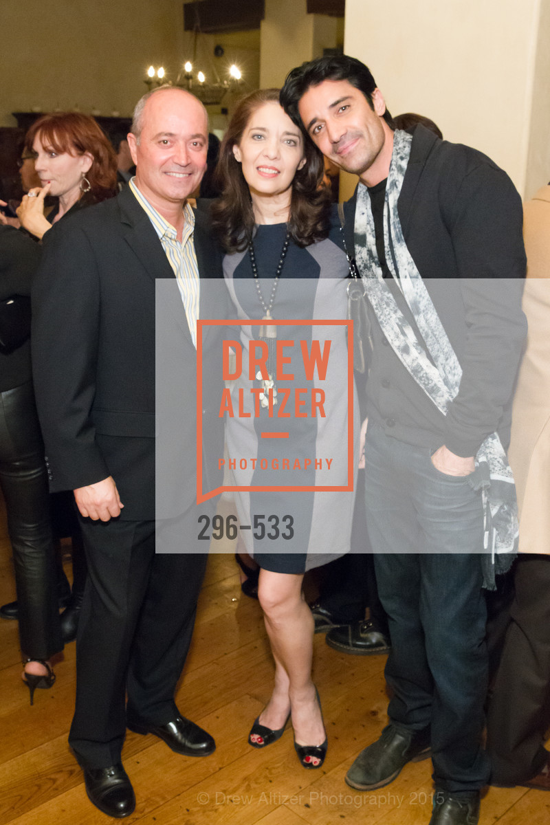 John Gumas, Elaine Alexopoulos, Gilles Marini, Hellenic Charity Ball Cocktail Reception, Kokkari. 200 Jackson St, San Francisco, CA 94111, November 13th, 2015,Drew Altizer, Drew Altizer Photography, full-service agency, private events, San Francisco photographer, photographer california