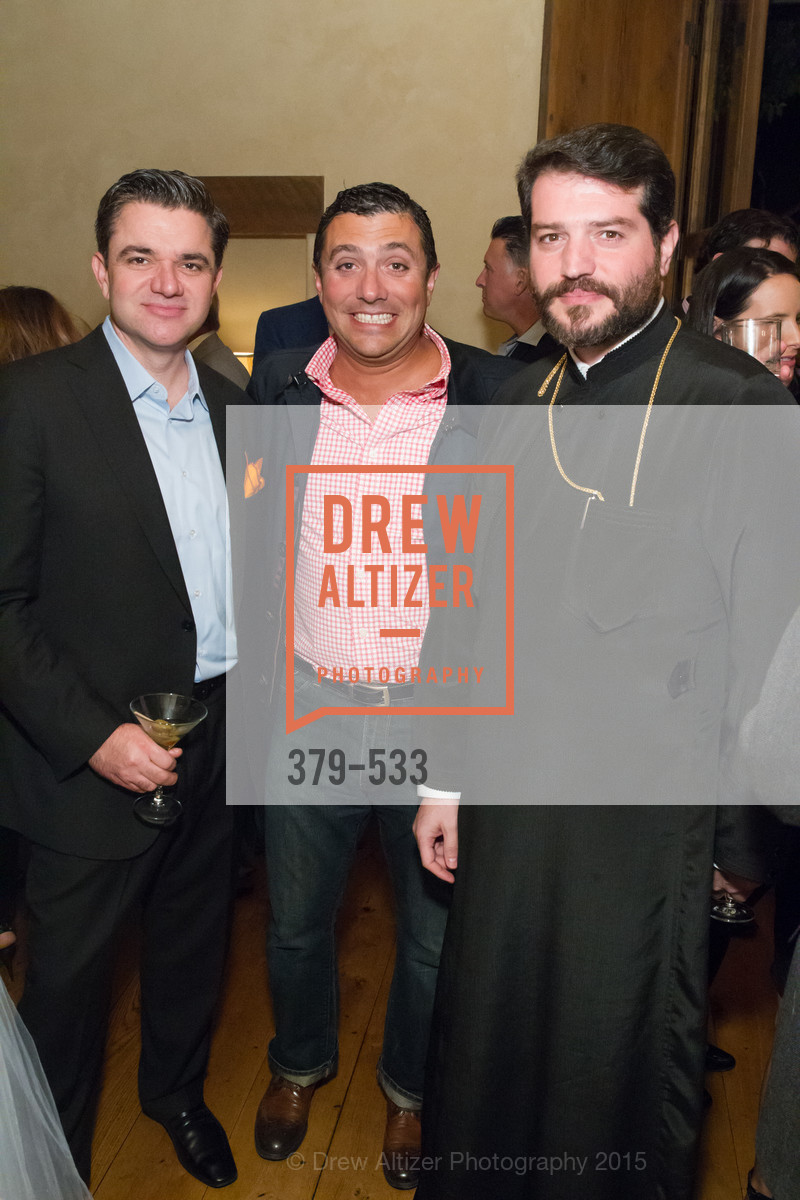 John Costouros, George Gavros, Apostolos Koufalakis, Hellenic Charity Ball Cocktail Reception, Kokkari. 200 Jackson St, San Francisco, CA 94111, November 13th, 2015,Drew Altizer, Drew Altizer Photography, full-service event agency, private events, San Francisco photographer, photographer California