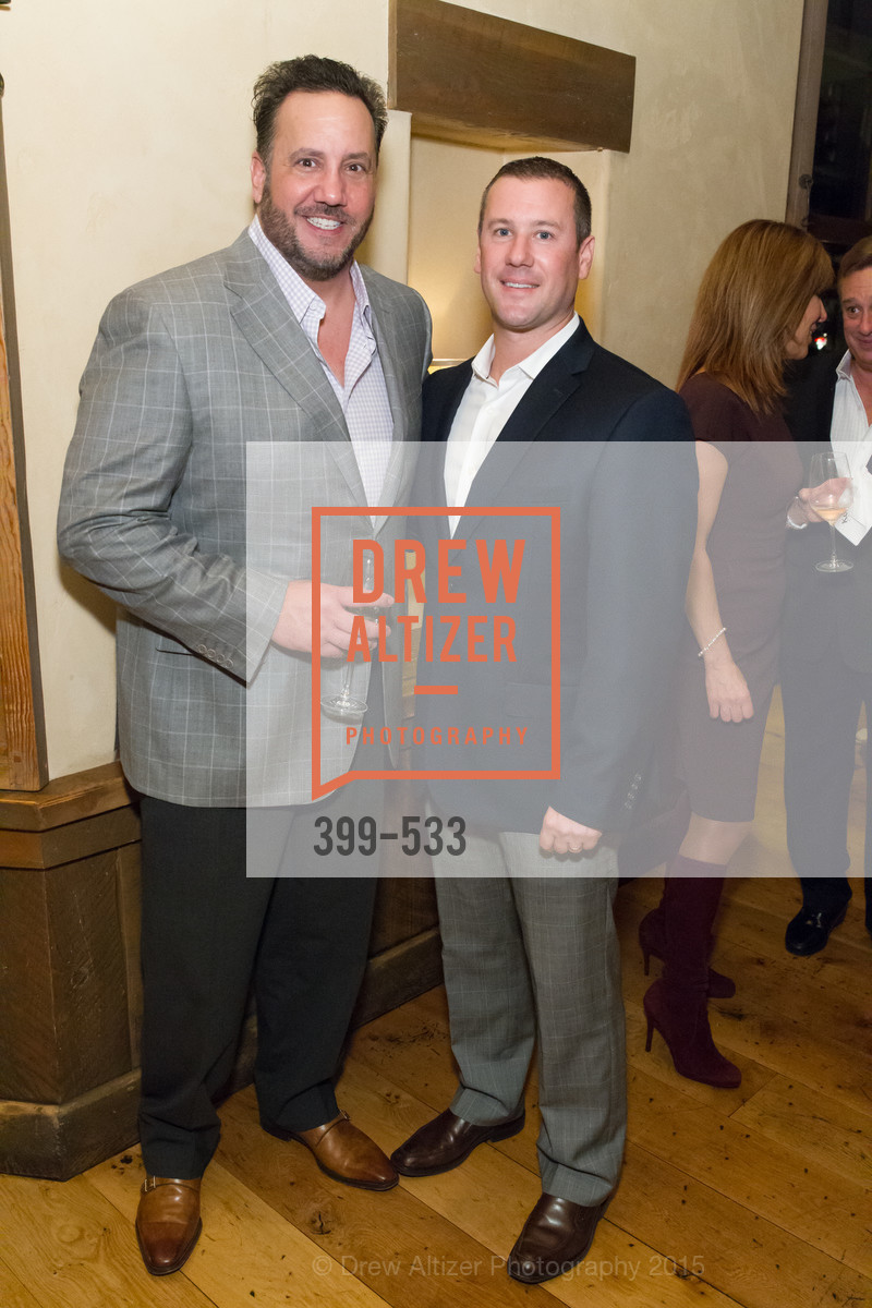 Chris Apostolopoulos, Gus Panagotacos, Hellenic Charity Ball Cocktail Reception, Kokkari. 200 Jackson St, San Francisco, CA 94111, November 13th, 2015,Drew Altizer, Drew Altizer Photography, full-service agency, private events, San Francisco photographer, photographer california
