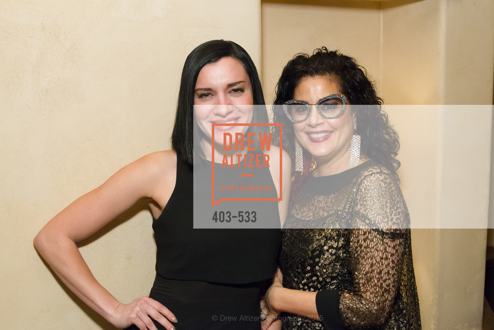 Ariana Savalas, Deborah Frangadakis, Hellenic Charity Ball Cocktail Reception, Kokkari. 200 Jackson St, San Francisco, CA 94111, November 13th, 2015,Drew Altizer, Drew Altizer Photography, full-service agency, private events, San Francisco photographer, photographer california