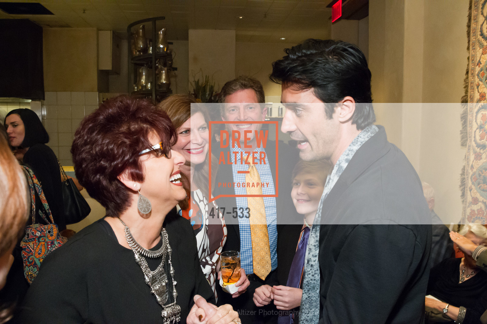 Frosene Phillips, Stella Pantazis, Michael Kasolas, Alexander Kasolas, Gilles Marini, Hellenic Charity Ball Cocktail Reception, Kokkari. 200 Jackson St, San Francisco, CA 94111, November 13th, 2015,Drew Altizer, Drew Altizer Photography, full-service agency, private events, San Francisco photographer, photographer california