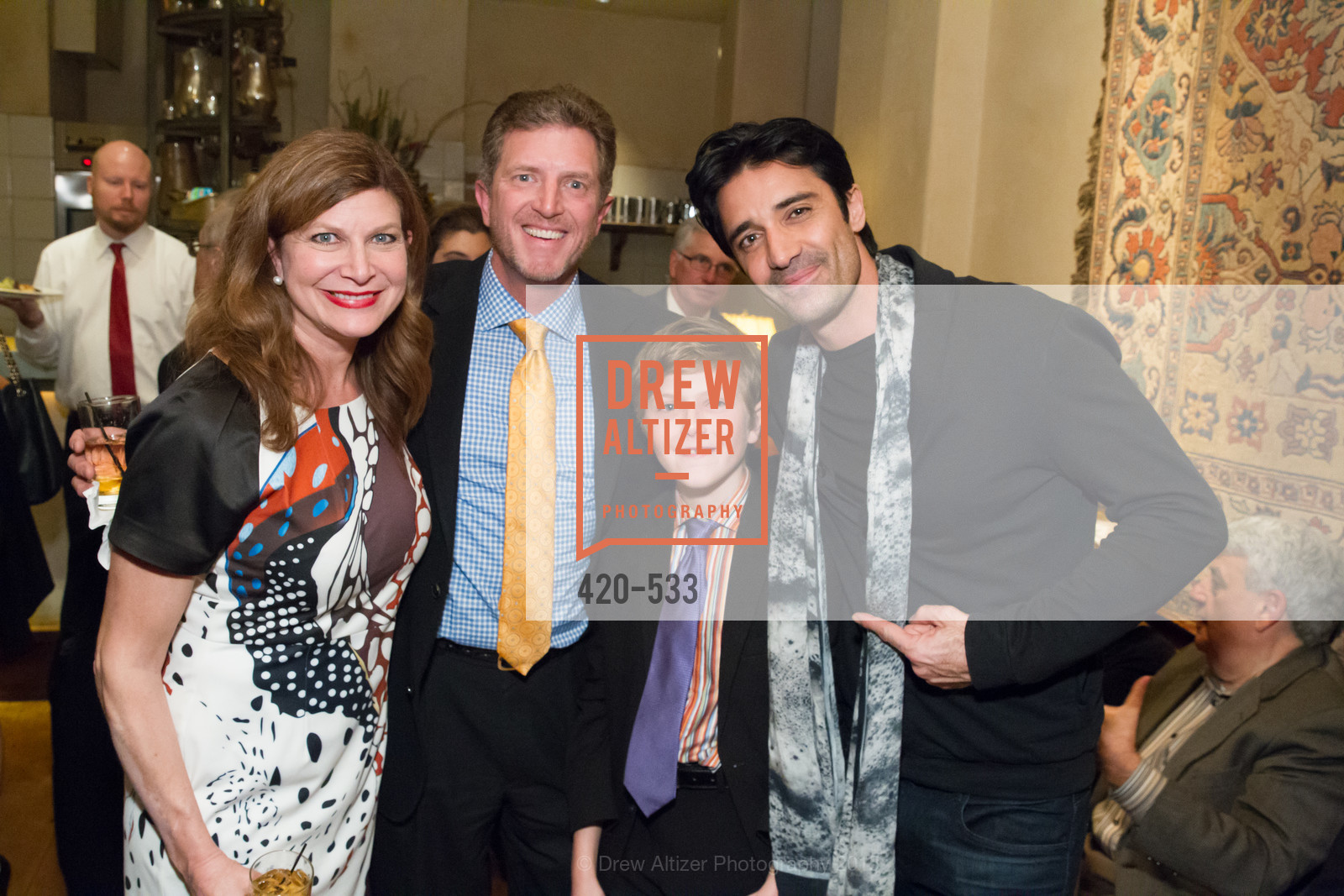 Stella Pantazis, Michael Kasolas, Alexander Kasolas, Gilles Marini, Hellenic Charity Ball Cocktail Reception, Kokkari. 200 Jackson St, San Francisco, CA 94111, November 13th, 2015,Drew Altizer, Drew Altizer Photography, full-service agency, private events, San Francisco photographer, photographer california