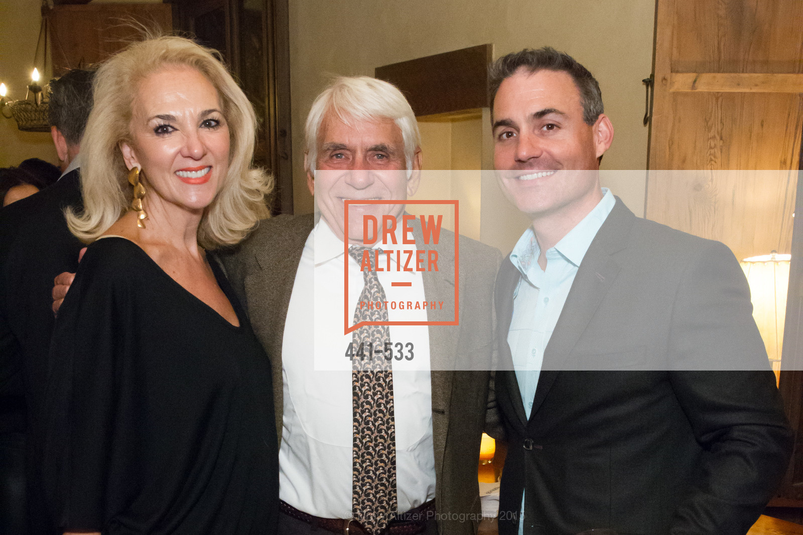 Athena Marks, John Grillos, Patrick Mockler, Hellenic Charity Ball Cocktail Reception, Kokkari. 200 Jackson St, San Francisco, CA 94111, November 13th, 2015,Drew Altizer, Drew Altizer Photography, full-service agency, private events, San Francisco photographer, photographer california