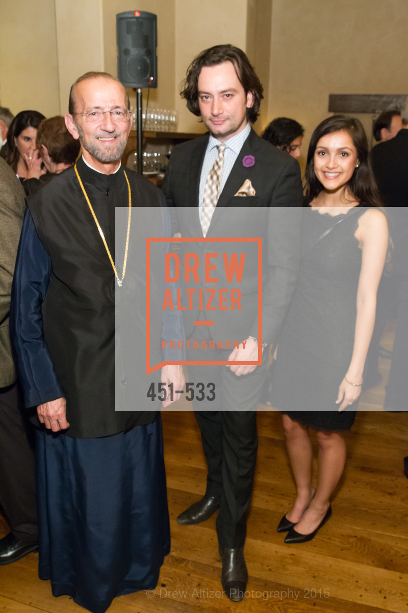 Metropolitan Gerasimos, Constantine Maroulis, Hellenic Charity Ball Cocktail Reception, Kokkari. 200 Jackson St, San Francisco, CA 94111, November 13th, 2015,Drew Altizer, Drew Altizer Photography, full-service agency, private events, San Francisco photographer, photographer california