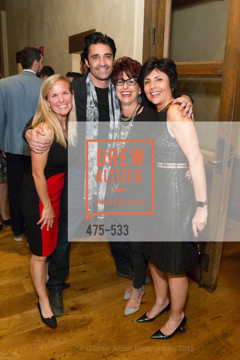 Jennifer Carlin, Gilles Marini, Frosene Phillips, Joan Dauria, Hellenic Charity Ball Cocktail Reception, Kokkari. 200 Jackson St, San Francisco, CA 94111, November 13th, 2015,Drew Altizer, Drew Altizer Photography, full-service agency, private events, San Francisco photographer, photographer california