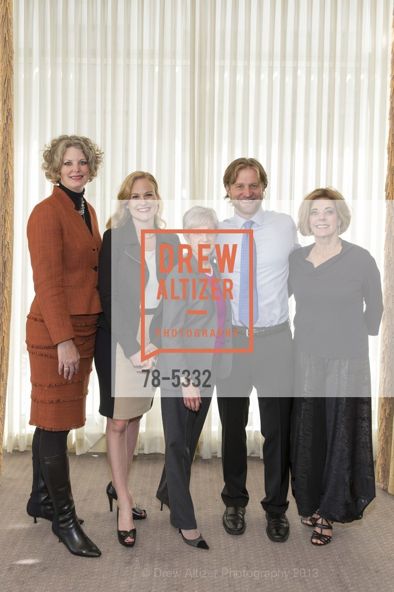Jennifer Lindsay, Heidi Ambruster, Nancy Livingston, Peter Frederich, Diane Hoge, Photo #78-5332