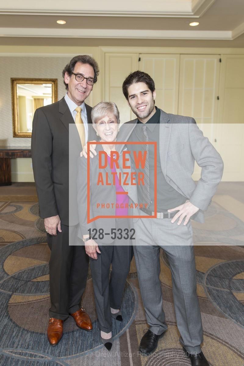Fred Levin, Nancy Livingston, Asher Grodman, Photo #128-5332