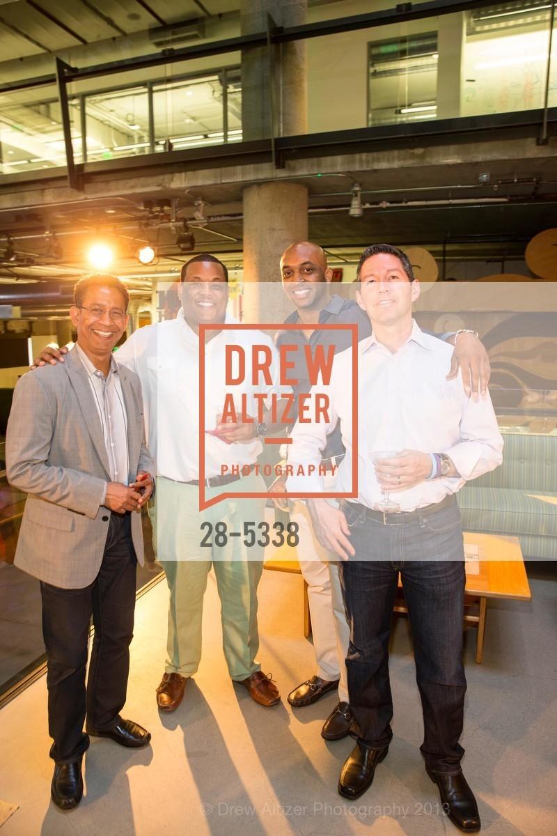 Amit Dasgupta, Tyron Lewis, James Keith, Mark Cramer, Photo #28-5338