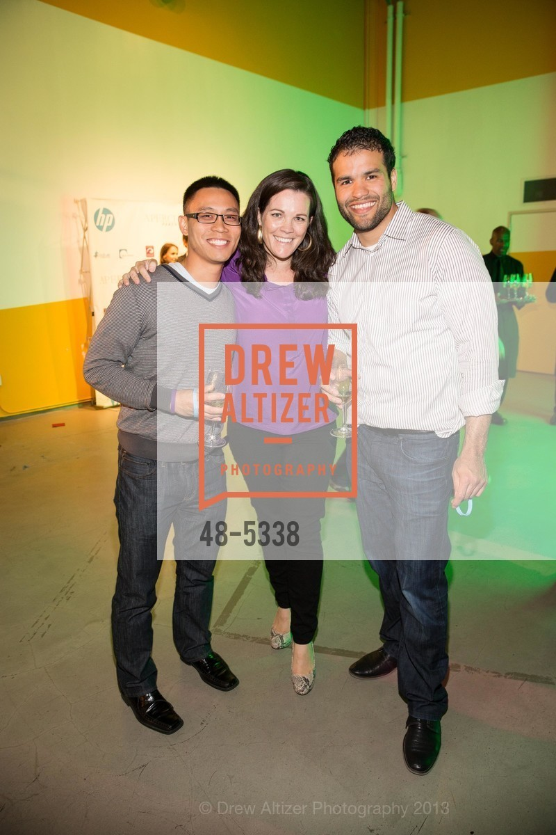 Chai Le, Bess Kennedy, Marcelo Quinones, Photo #48-5338