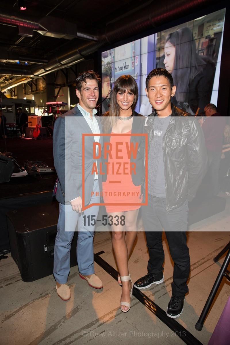 Brendan Wallace, Brittany Ward, Chris Pan, Photo #115-5338
