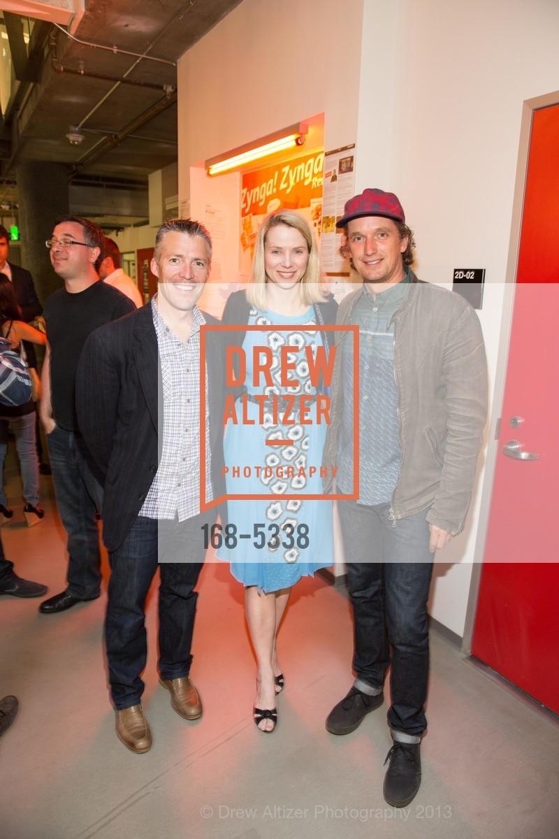 Dylan Casey, Marissa Mayer, Yves Behar, Photo #168-5338