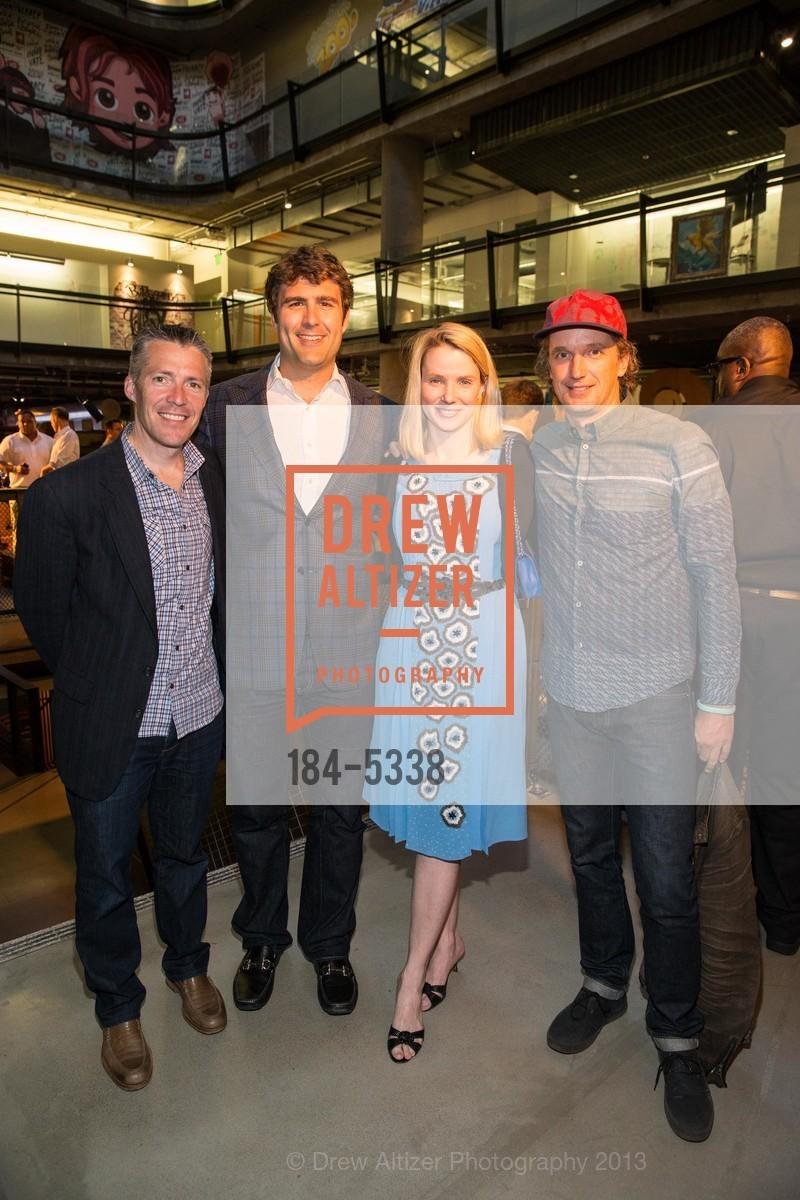 Dylan Casey, Zachary Bogue, Marissa Mayer, Yves Behar, Photo #184-5338