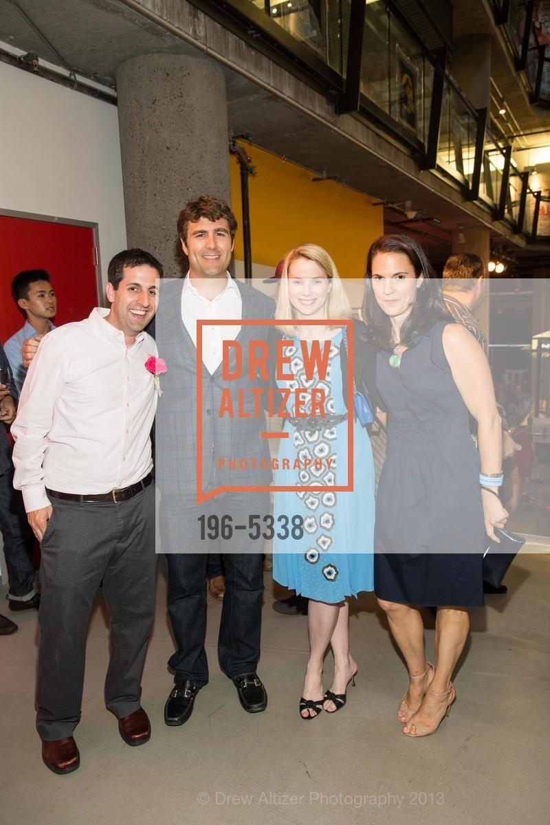 Mike Berman, Zachary Bogue, Marissa Mayer, Nancy Rosenthal, Photo #196-5338