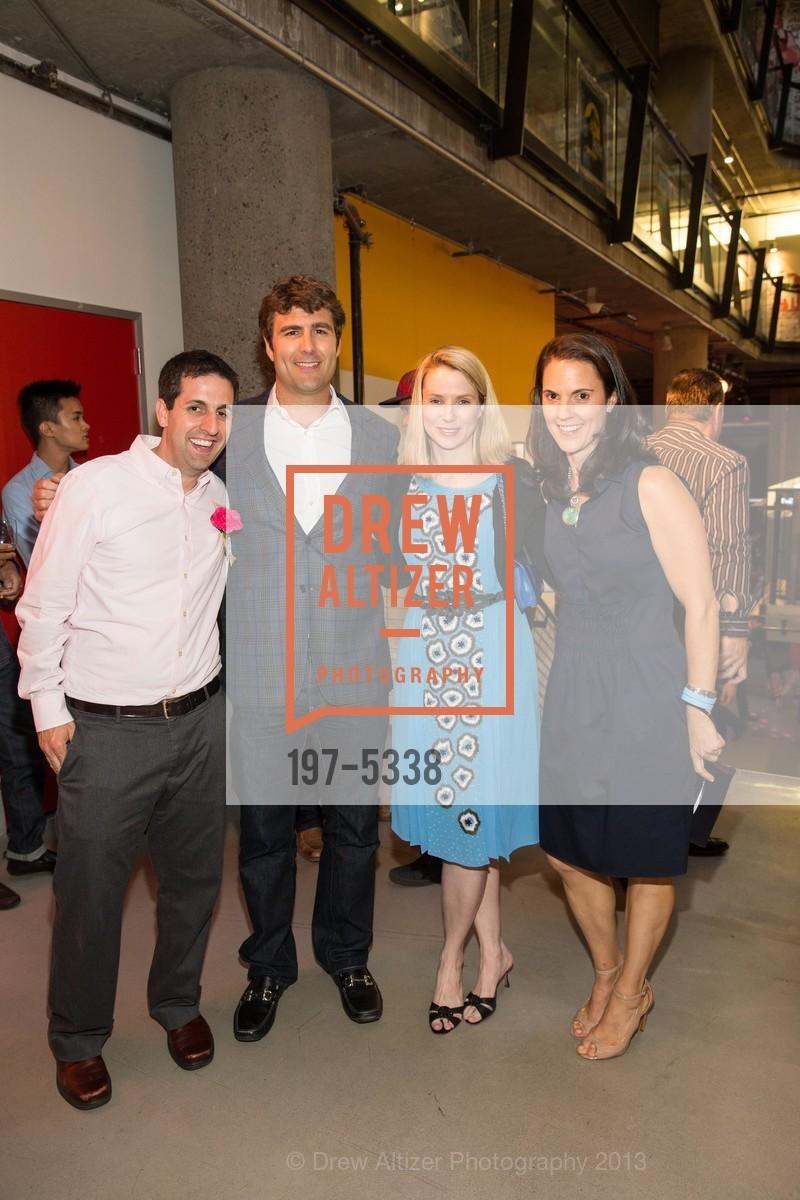 Mike Berman, Zachary Bogue, Marissa Mayer, Nancy Rosenthal, Photo #197-5338