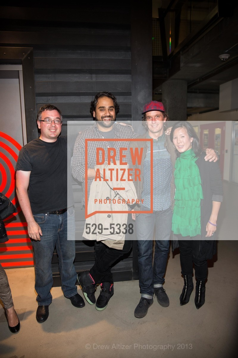Joshua Schachter, Hosain Rahman, Yves Behar, Aileen Lee, Photo #529-5338