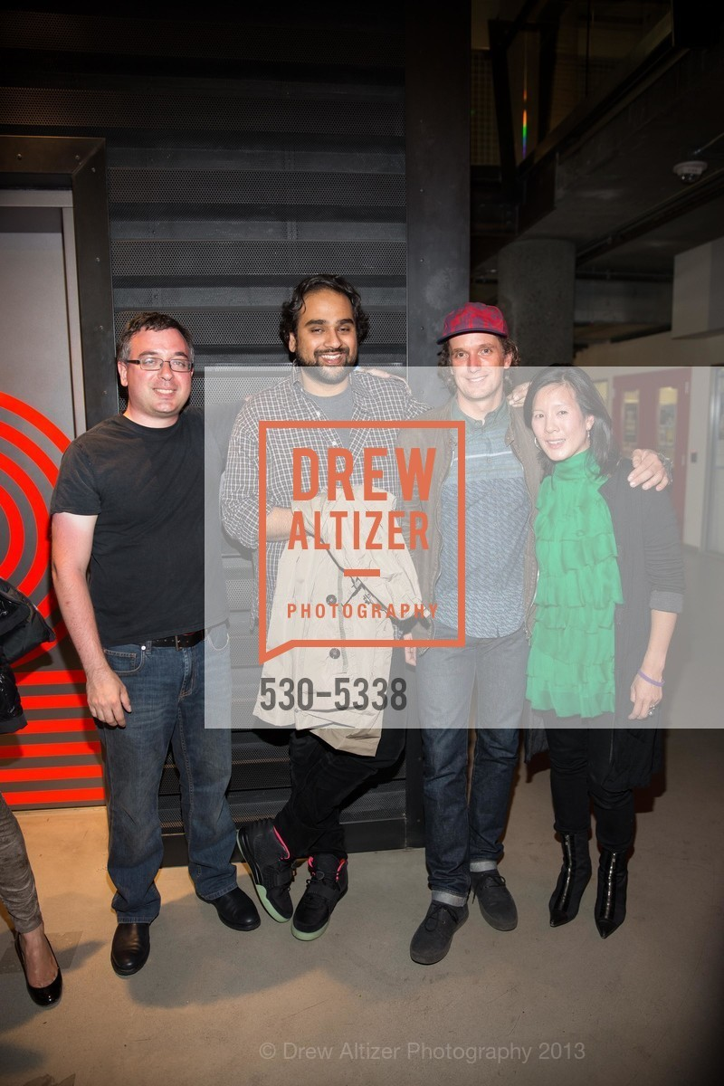 Joshua Schachter, Hosain Rahman, Yves Behar, Aileen Lee, Photo #530-5338
