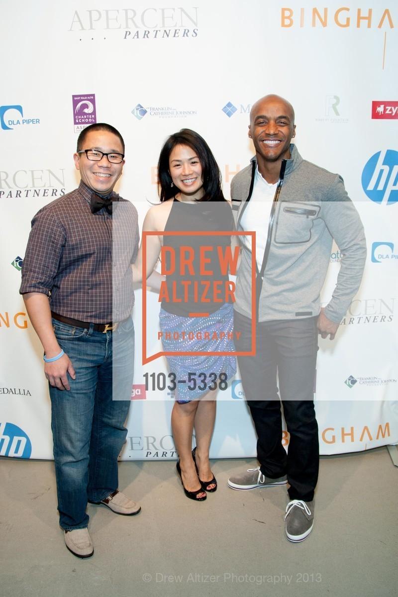 Melvin Burns, Letitia Yang, Clinton Yara, Photo #1103-5338