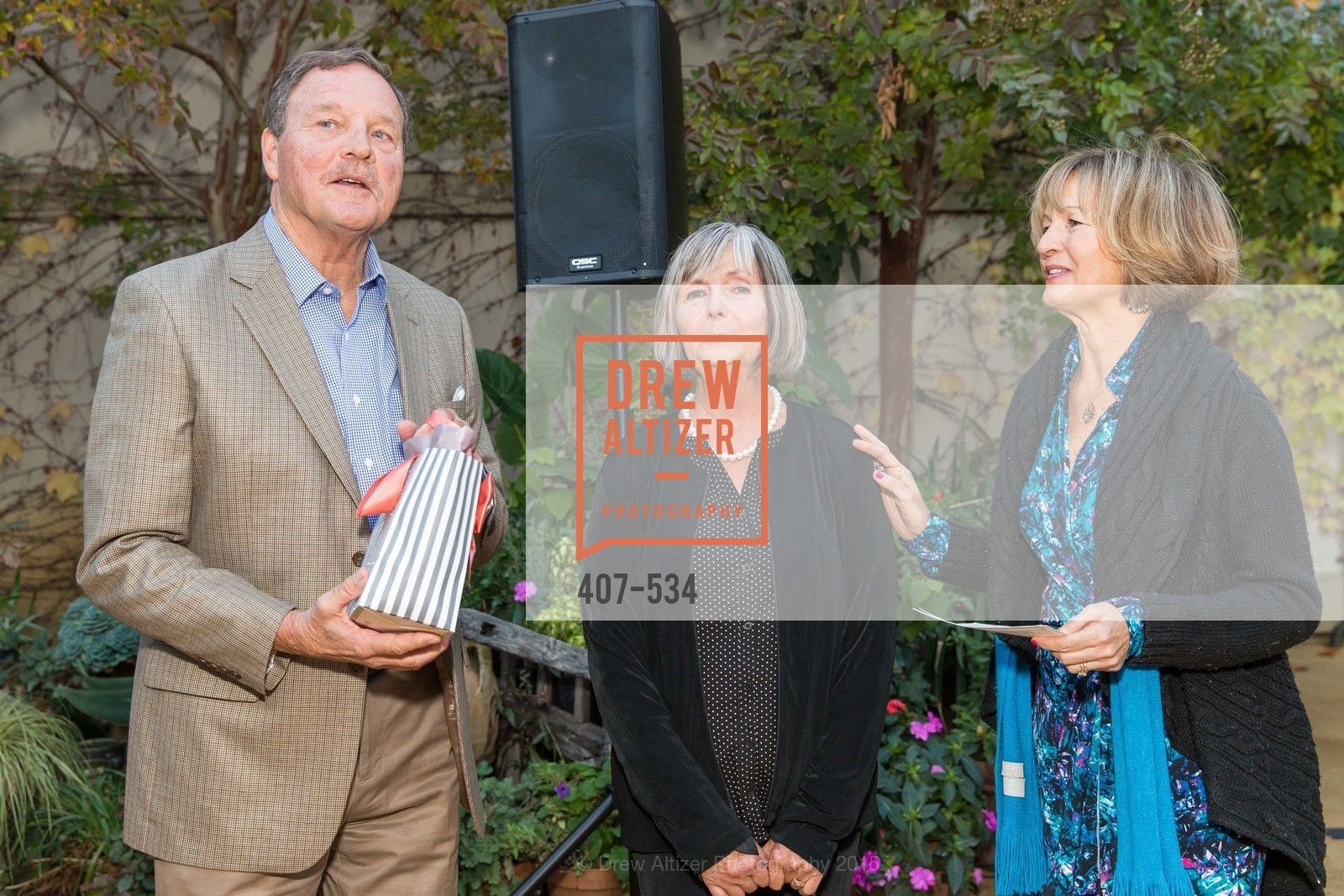 John Barrett, Millie Barrett, Anne Coyne, Perfecting Pairings - Food, Wine and Stories, Chateau St Jean, Kenwood, November 14th, 2015,Drew Altizer, Drew Altizer Photography, full-service agency, private events, San Francisco photographer, photographer california