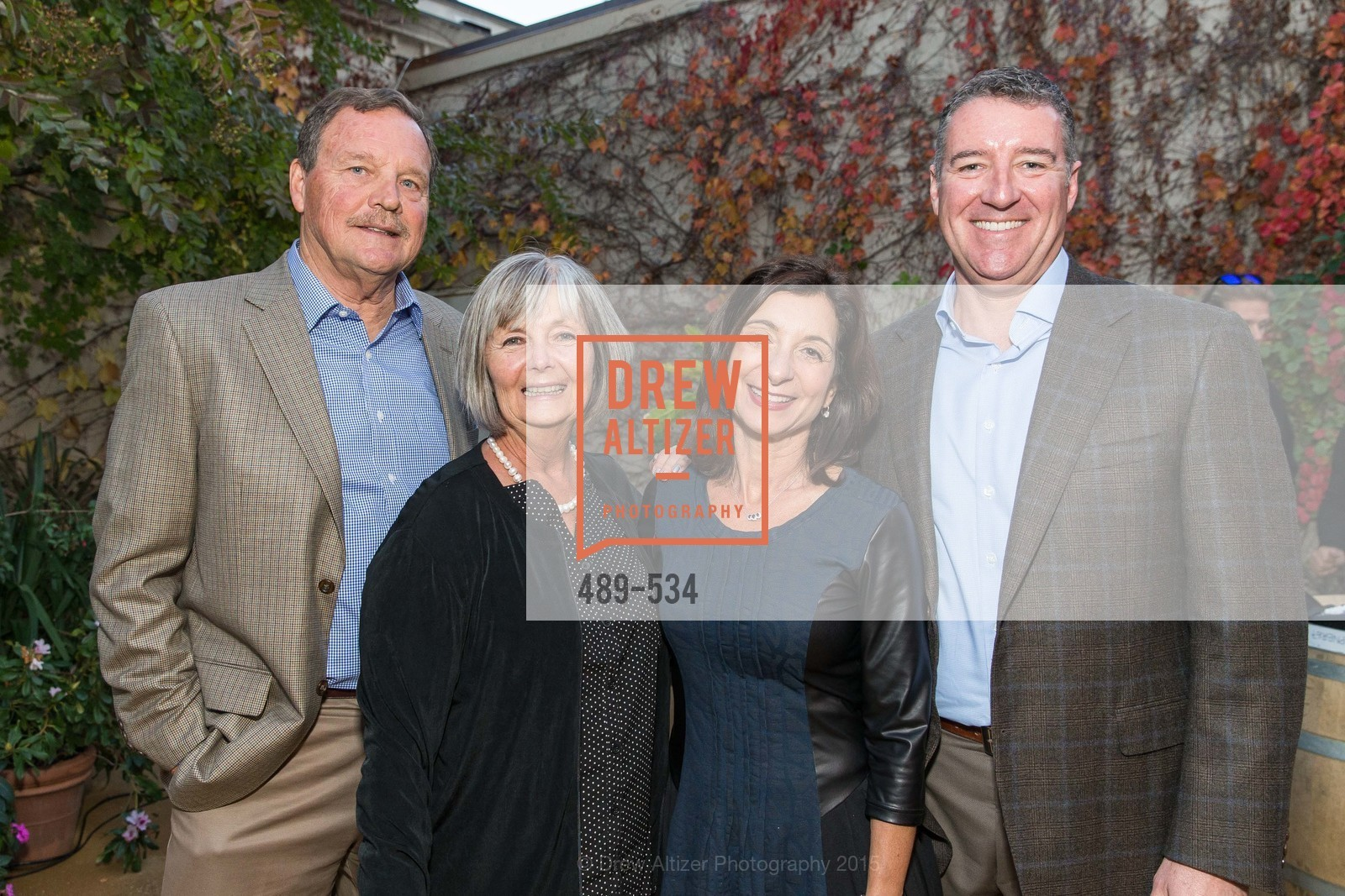 John Barrett, Millie Barrett, RoseAnn Frank, Tom Frank, Perfecting Pairings - Food, Wine and Stories, Chateau St Jean, Kenwood, November 14th, 2015,Drew Altizer, Drew Altizer Photography, full-service agency, private events, San Francisco photographer, photographer california