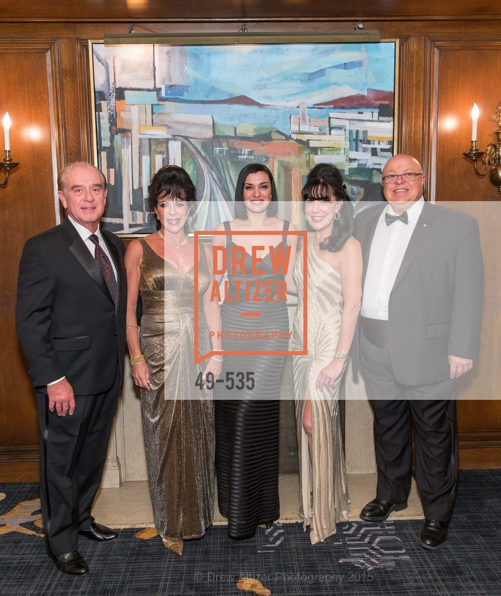 Tom Foster, Katherine Foster, Ariana Savalas, Jeanne Ranglas, Gerry Ranglas, Hellenic Charity Ball, Westin St. Francis. 335 Powell Street, November 14th, 2015,Drew Altizer, Drew Altizer Photography, full-service agency, private events, San Francisco photographer, photographer california